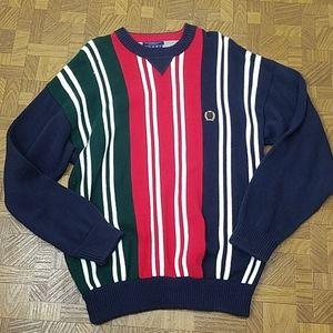 Tommy Hilfiger vintage striped mens sweater L/XL